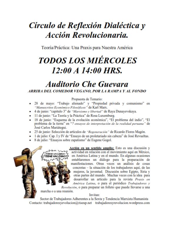 Círculo de Reflexión Dialéctica y Acción Revolucionaria