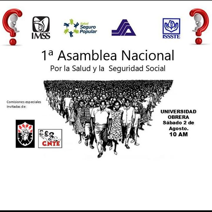 M Xico Asamblea Nacional Por Salud Y Seguridad Social 2