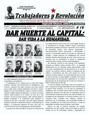 Trabajadores y Revolución #18