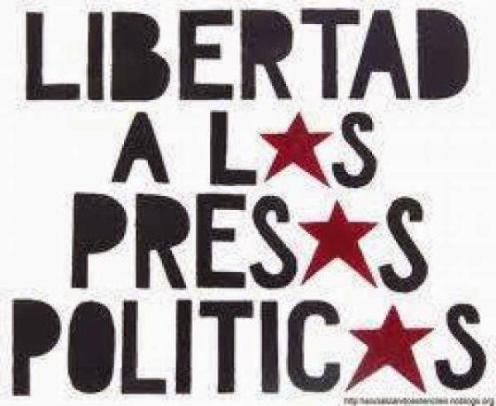 libertad a los presos politicos-
