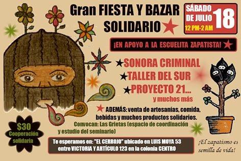 Bazar Solidario EZLN