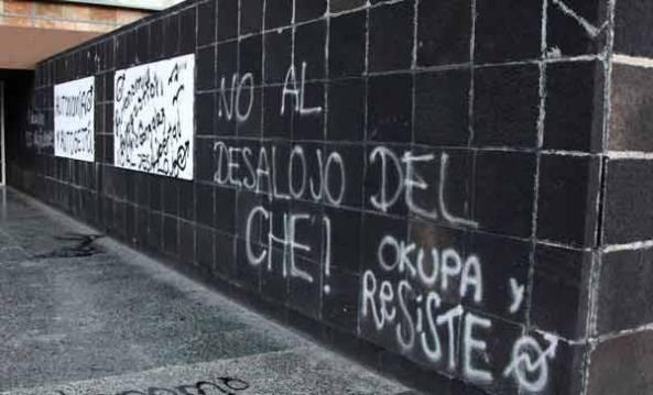 Desalojo Che