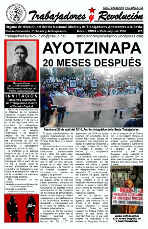 Trabajadores y Revolución #23