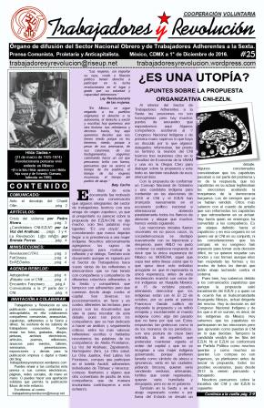 Trabajadores y Revolución #25