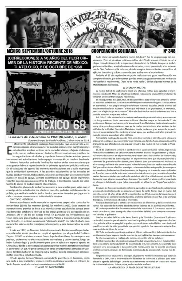 La Voz del Anáhuac #348