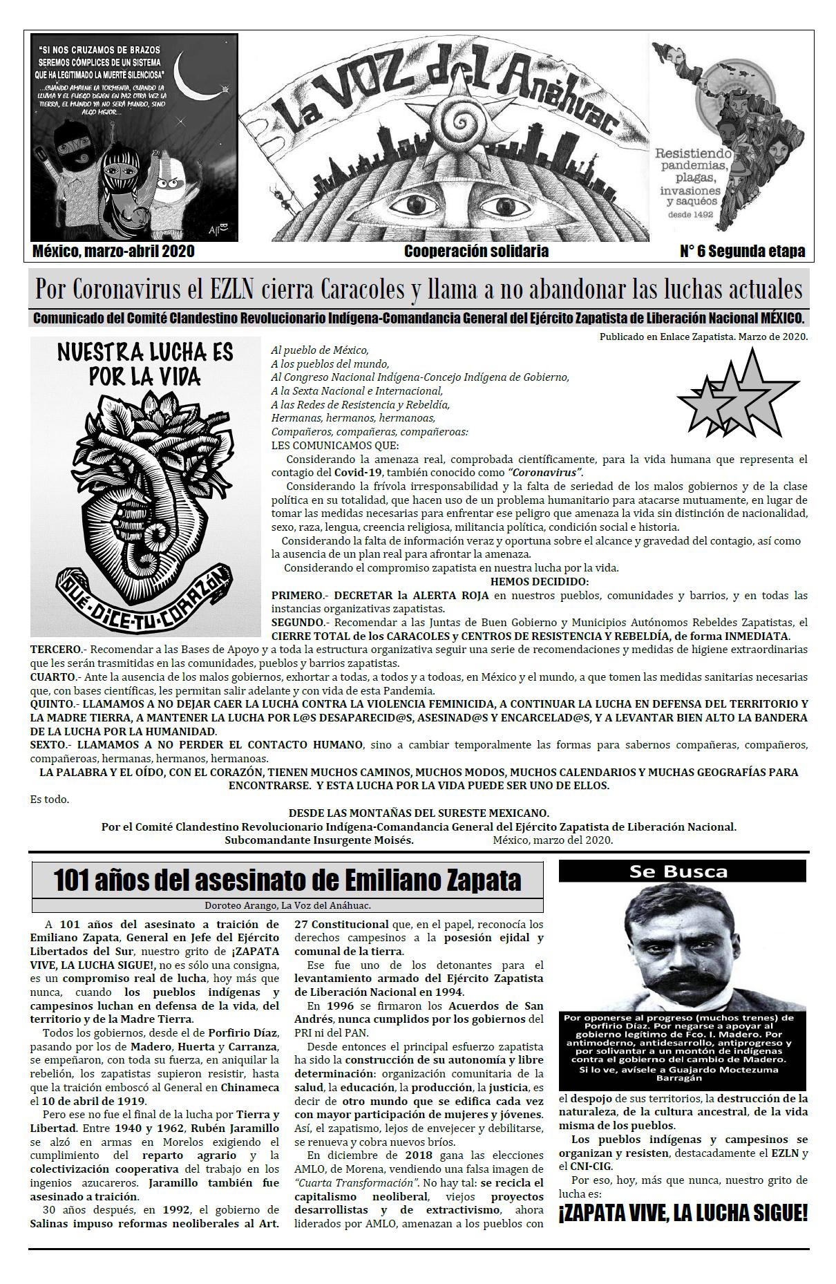 La Voz del Anáhuac Nueva Etapa N°5
